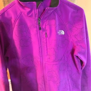 """North face """"Apex Bionic"""" soft shell jacket"""